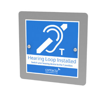 Flush Hearing Loop for Door Entry Systems